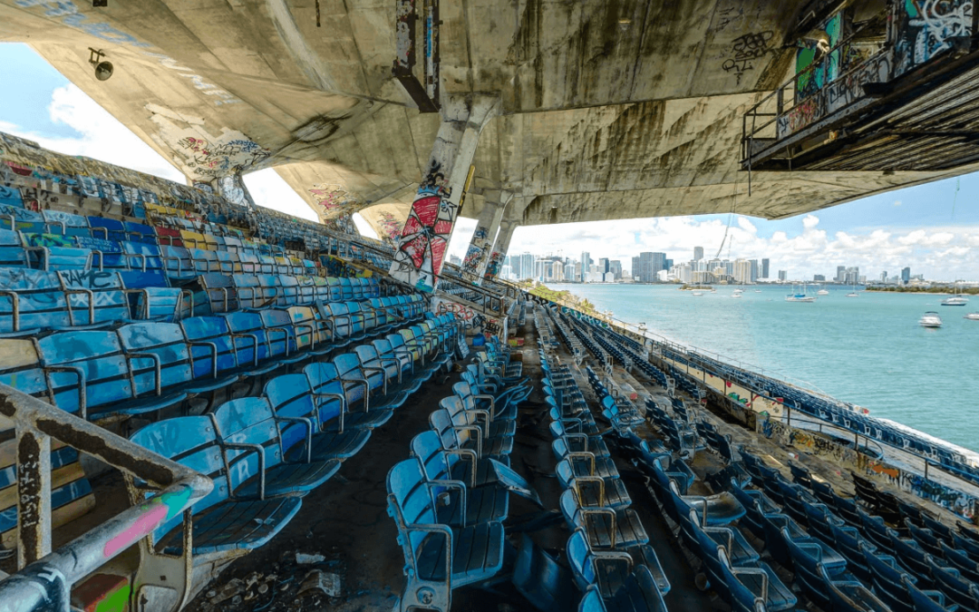 Miami Marine Stadium 360º Street View Virtual Tour #StreetArt #Graffitti